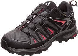 SALOMON Women's Ultra 3 GTX Low Rise Hiking Shoes Bristol Nordic Walking