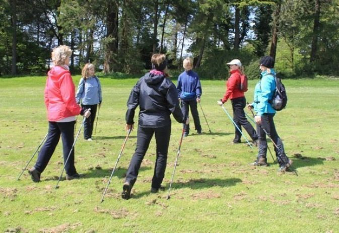 Keep working on your technique to reap the full benefits of Nordic walking