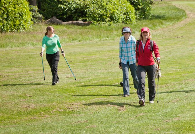 Double planting or sore forearm when Nordic walking?  Here's what to do