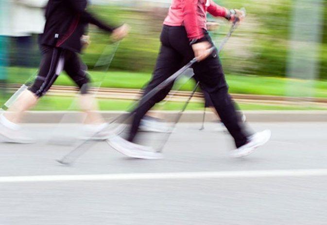 4 Week Training programme for Nordic walking a 10k road race