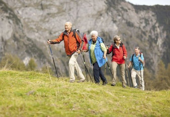 The benefits of Nordic walking for older adults