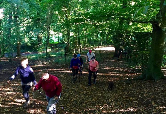 Use our Nordic walking classes to improve your aerobic fitness