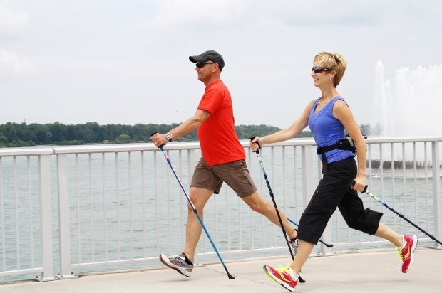 Nordic walk your way to your New Year Fitness Goals
