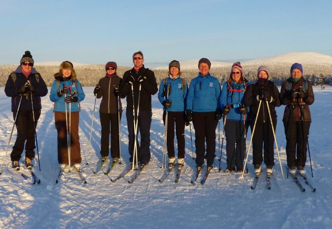 Can I strengthen my hips through Nordic walking