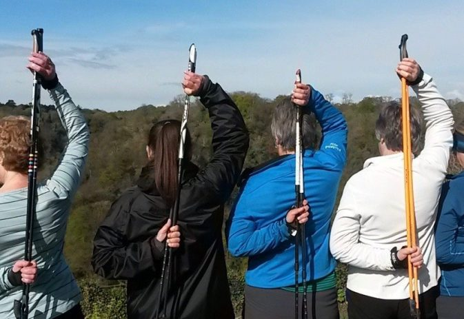Can Nordic walking help with shoulder pain?