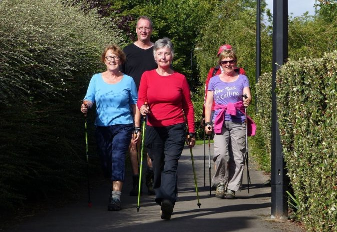 The health benefits of walking plus a seven-point posture checklist
