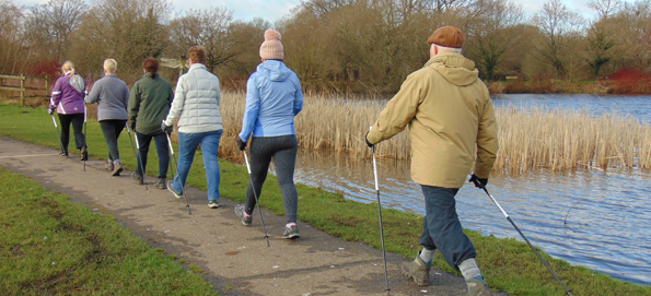 My pick of the poles this Christmas plus six ways to turn your walk into a workout (without Nordic walking)