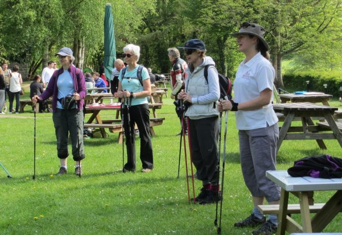 What size of Nordic walking poles do I need and how to measure.