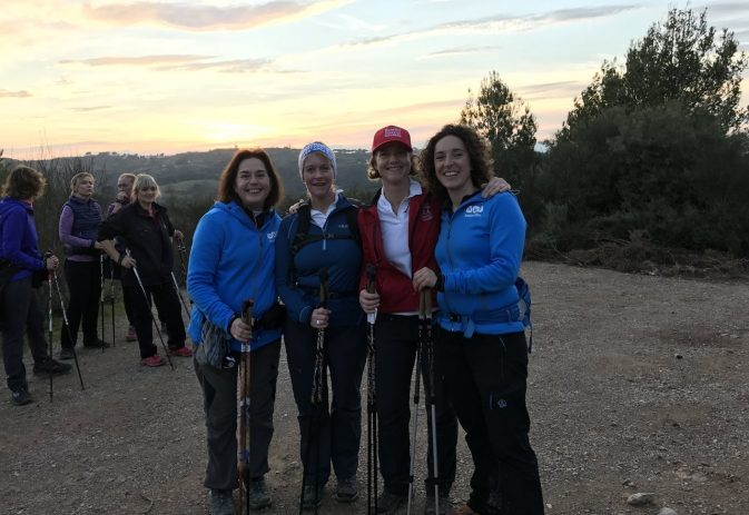 Pole maintenance and one walker's story of how Nordic walking helped her return to health