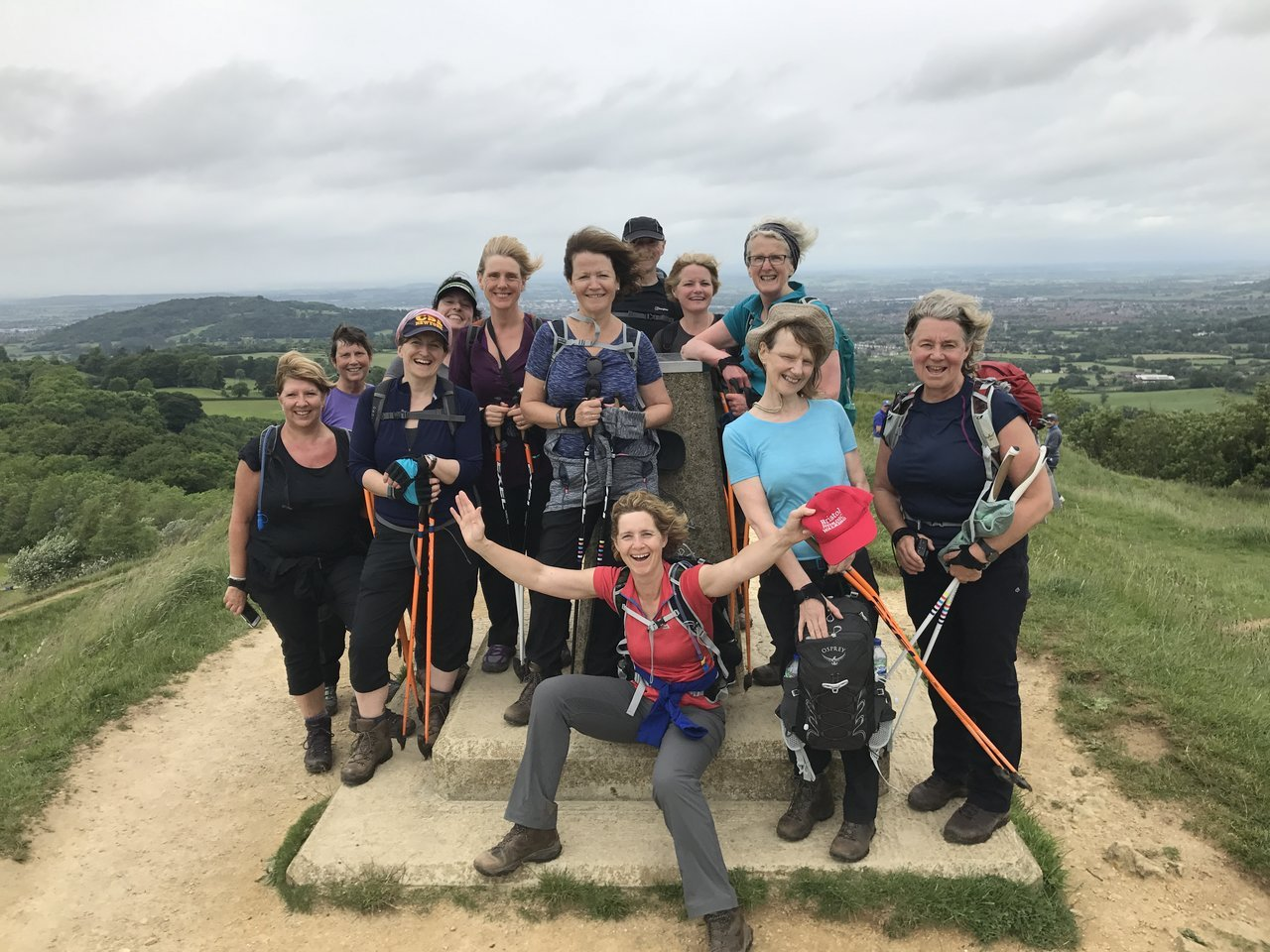 The less tangible benefits of Nordic walking