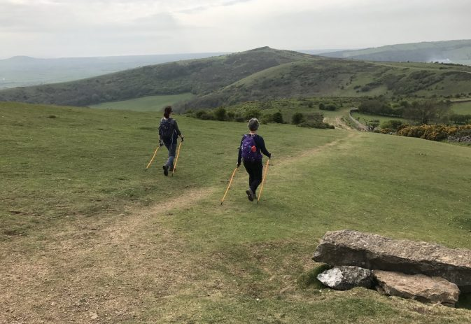 Tick alert, our new mindful Nordic walking course plus our nations slide toward inactivity