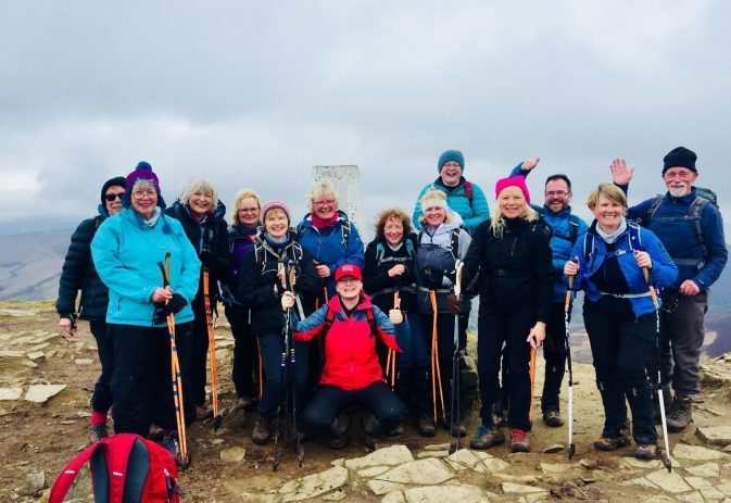 The South Wales Three Peaks challenge