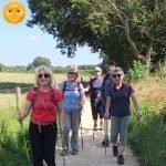 Hot weather walking advice