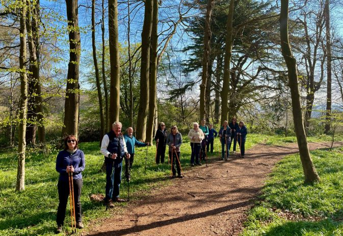 9 benefits of Nordic walking