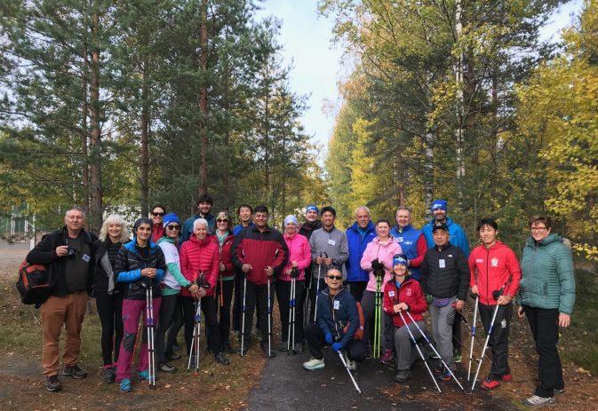 International Nordic Walking Federation convention – Helsinki