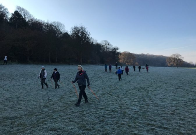 Top tips to stay warm in cold weather when Nordic walking