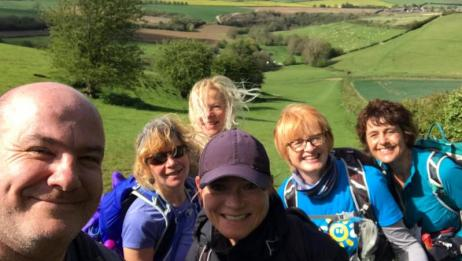 You are currently viewing Nordic walking the Bath Beat