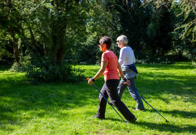 Seven ways to improve your circulation with Nordic walking
