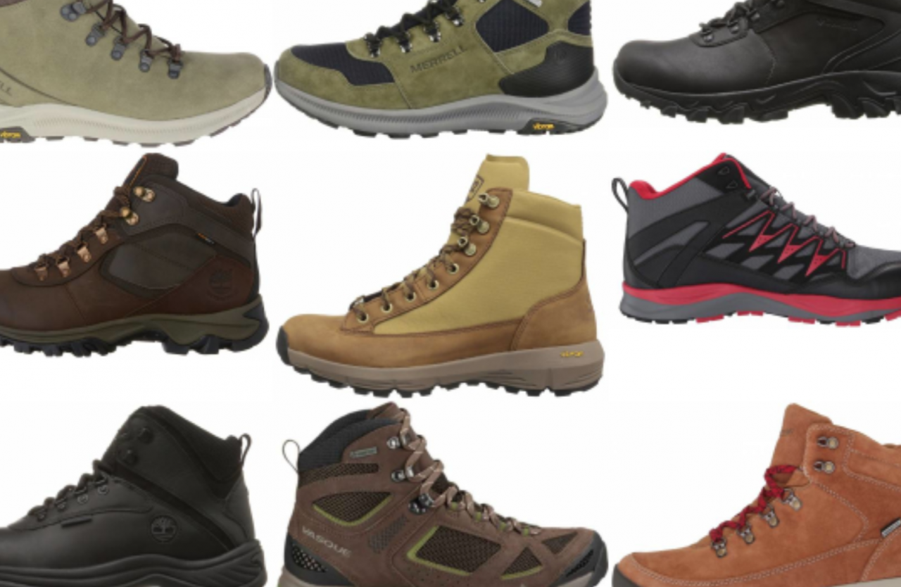 Best boots for walking / Nordic walking