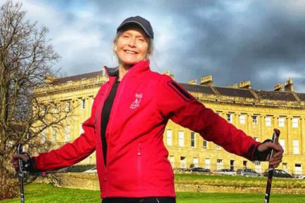 Lindsay Bristol Nordic walking