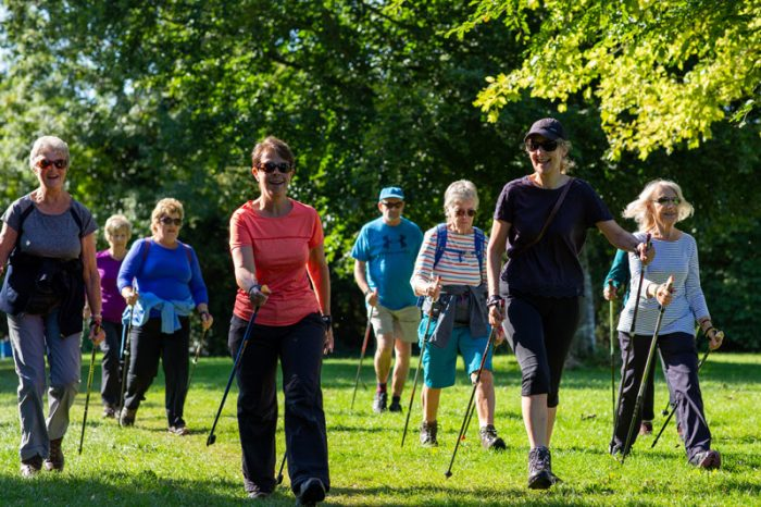 Walking helps posture and tension